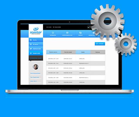 Software para la gestión de reservas online